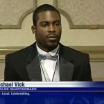 michael vick courage award