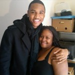 Trey Songz w/ Fan