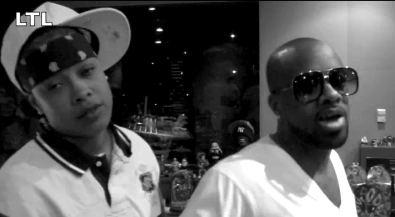Da Brat and Jermaine Dupri