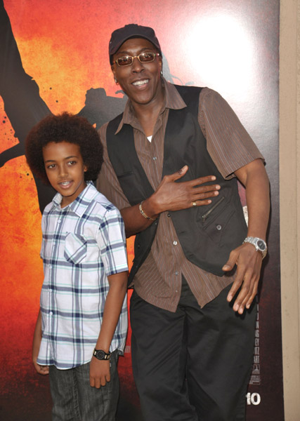 Cheryl Bonacci Picture Arsenio hall & son. �