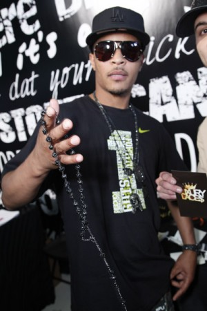 T.I. - GBK Talent Lounge - BET Awards