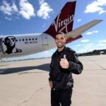 Drake Virgin Airlines