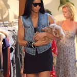 Photo Op: Ciara & Her Dog(s) Go Shopping…