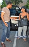 Sheree Whitfield and BJ Coleman