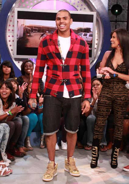 the gallery for gt chris brown wearing shorts