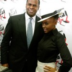 Mayor Kasim Reed Janelle Monae