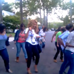 Spotted: Beyonce Dancing in the Streets… [VIDEO]