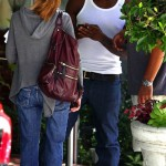 Usher Frolics in White Tee + Ex-wife Tameka Laughs All the Way to the Bank…