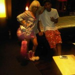 Spotted: Keyshia Cole in the Studio…