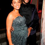 Boo'd Up ~ Swizz Beatz, Alicia Keys & Her Baby Belly