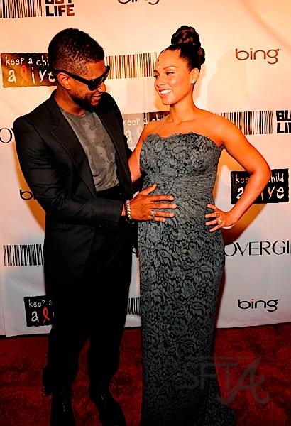 Usher Raymond Alicia Keys