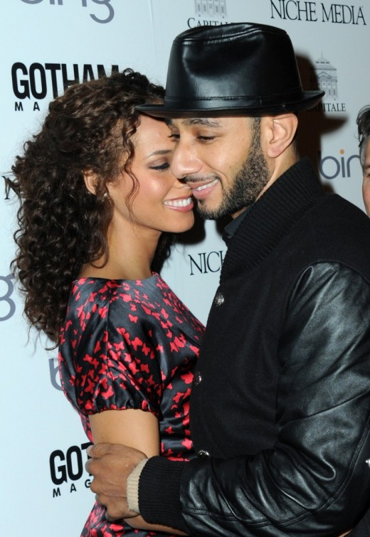 Producer/Rapper Swizz Beatz used his boo Alicia Keys' body as inspiration ...
