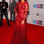 Rihanna's Red Hot AMA's Red Carpet Attire + Performance Video