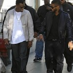 "Spotted: Usher & Diddy on the Set of ""Lookin' For Love"""