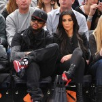 Boo'd Up ~ The Dream & Kim Kardashian Courtside…