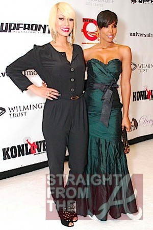 Keri Hilson and Kelly Rowland