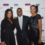 Sheree Whitfield, Atlanta Mayor Kasim Reed, Cynthia Bailey