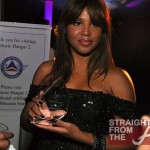 Toni Braxton with Award