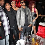 Usher Gets His Party On & Gets Kicked in The Face… [PHOTOS + VIDEO]