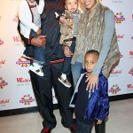 Boo'd Up: Monica, Shannon Brown & The Kids at Millions of Milkshakes…