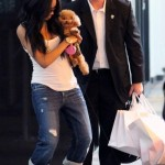 Spotted: Ciara Shops in Miami & Takes in a Heat Game…