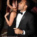 John Legend and Christine Teigen Dance