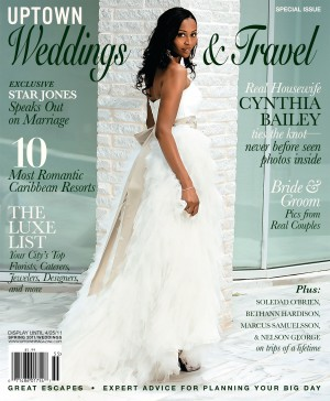 RHOAs Cynthia Bailey Amp Peter Thomas Reveal Wedding Photo Cynthia Answers A Few Questions