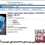 WTF?!? Do-it-Yourself Gastric Bypass Kit Sold on Amazon!!! [PHOTOS + VIDEO]