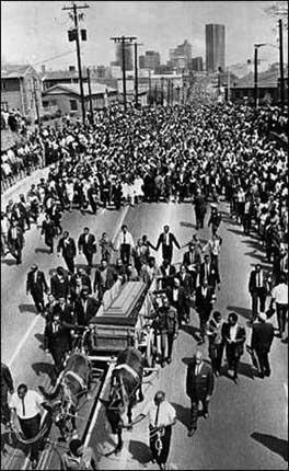 Martin Luther King Funeral King Funeral Atanta