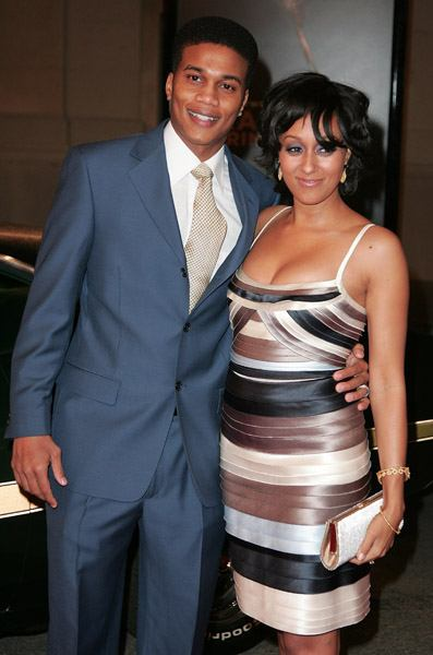 Tia Mowry with Husband Cory Hardrict