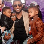 "Usher & Sons Attend ""Justin Bieber: Never Say Never"" Movie Premiere [PHOTOS]"
