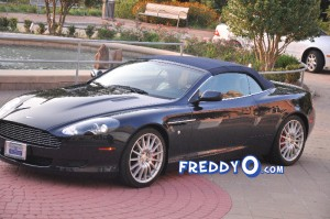 Sheree Whitfield's Repo'd Aston Martin