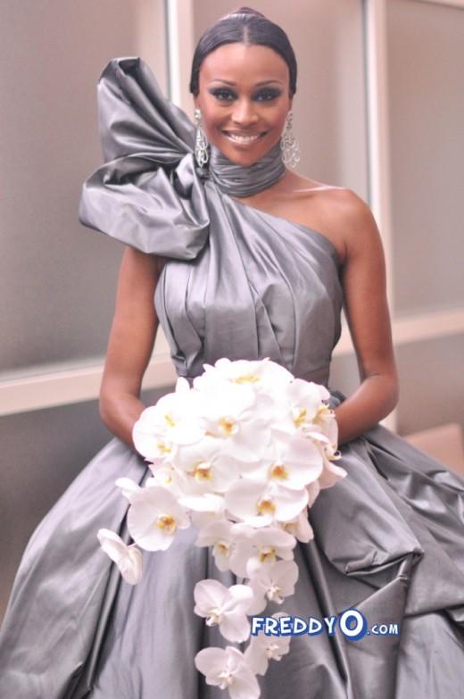 Behind the scenes photos from cynthia bailey s wedding rhoa for Wedding dress rental atlanta