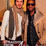 Usher Raymond + David Beckham = Way Too Much Sexy in One Room! [PHOTOS]