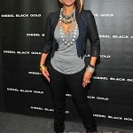 Quick Flix ~ Keri Hilson Attends Diesel Fashion Show (Mercedes-Benz Fashion Week)