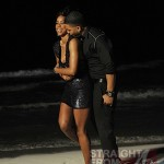 Nelly &amp; Kelly Rowland on February 23, 2011 in Cancun, Mexico.