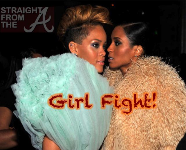 Rihanna Ciara Girlfight