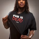 "Waka Flocka Goes Nude for PETA's ""Ink Not Mink"" Campaign… [Behind the Scenes Photos + Video]"