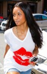Ciara-Torn-Gilliane-Lips-v-neck-t-shirt-1
