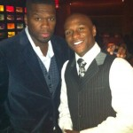 "50 Cent & Floyd Mayweather Display True Meaning of ""BROmance"" [PHOTOS]"