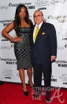 Jennifer Hudson and Clive Davis