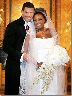 Star Jones Al Reynolds wedding picture