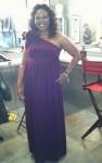 ATLien (Michelle Brown) in Dress Designed by Mychael Knight