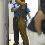 Rihanna 'Assumes the Position' for TSA's Full Body Scan… [PHOTOS]