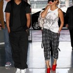 Beyonce Jay-Z Leave Paris 2