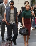 Beyonce & JayZ in Paris2