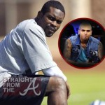 Michael Vick Wants Chris Brown to Know… [VIDEO]