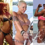 Motivation! aka Bikini Bodies: Gabby, Serena, Amber Rose, Rihanna… [PHOTOS]