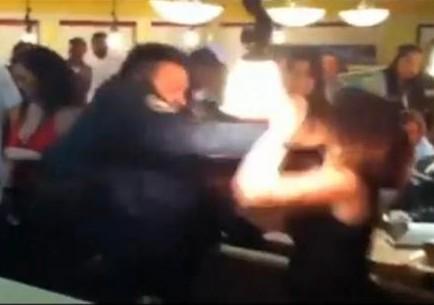 Atlanta Cop Punches Woman