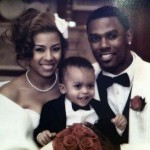 Keyshia Cole Daniel Gibson & son Wedding